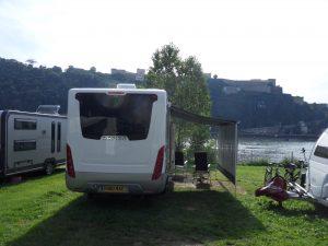 Koblenz and the Rhine.